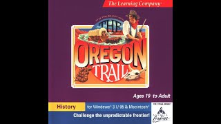 The Oregon Trail Deluxe - APPLE MACINTOSH gameplay