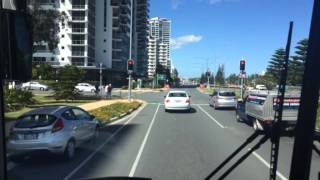 Gold Coast Australia street video 1 to scu university