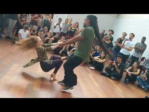 ZNL2018: Hilde & Pasty in Saturday workshop demo ~ Zouk Soul