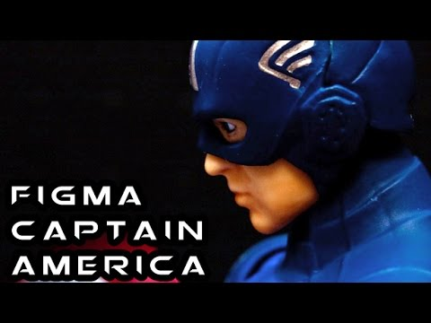 Figma CAPTAIN AMERICA Avengers Figure Review