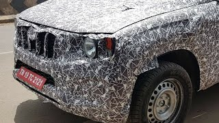 2020 Mahindra Scorpio Facelift Interior and Exterior Spied while Testing in India !!