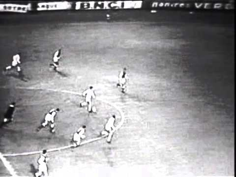Reims-Real Madrid friendly 1961 goal Di Stefano,goal Puskas