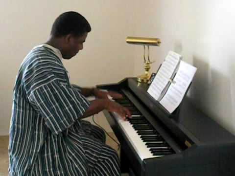 Dagbani Trifle, By N. N. Kofi. Harold Richter - Piano video