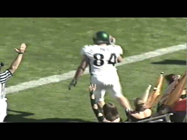Oregon vs. Cal recap 10-13-2001