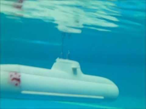 U32 RC Model Submarine