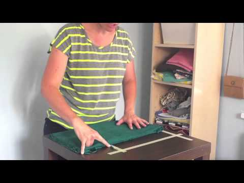 How to fold and organize fabric like a pro