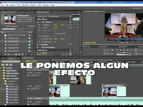 Adobe Premiere Pro CS5 Tutorial Copiar y pegar efectos