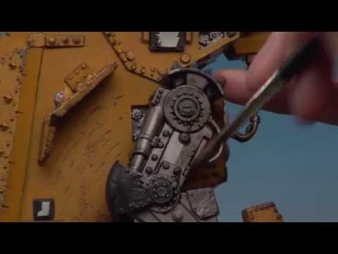 Painting the Ork Morkanaut (Part 2 of 3).