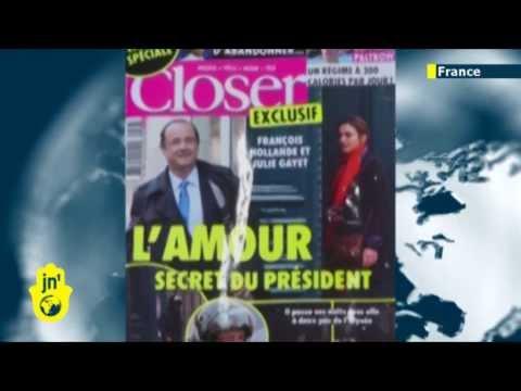 French President in Love Triangle: Hollande leaves Valerie Trierweiler after Julie Gayet affair