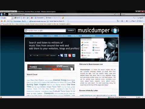 How To Download Any Songs From The Net Without Any Software!! video