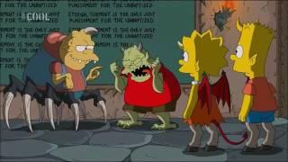 Simpsonovci 26x04 Speciální čarodějnický díl XXV 1 5