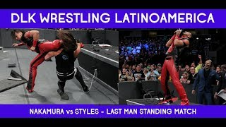 WWE SMACKDOWN REVIEW - NAKAMURA VS STYLES - LAST MAN STANDING MATCH