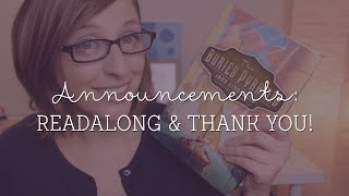Announcements: Readalong and Thank YOU!