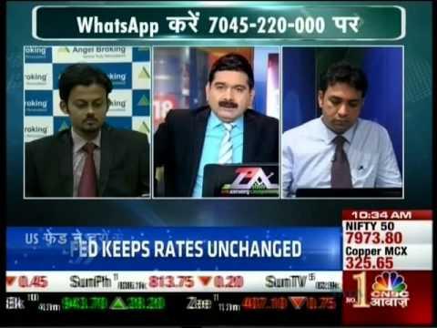 CNBC Awaaz Traders Hotline, 28 April 2016 - Mr. Sameet Chavan, Angel Broking