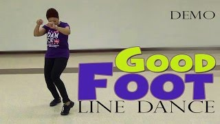Demo Good Foot Pokey Bear Line Dance By The Line Dance Queen
