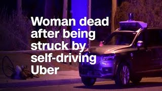 Pedestrian killed in accident involving self-driving Uber
