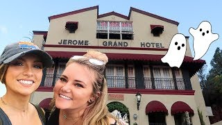 we stayed in a haunted hotel & this is what happened...