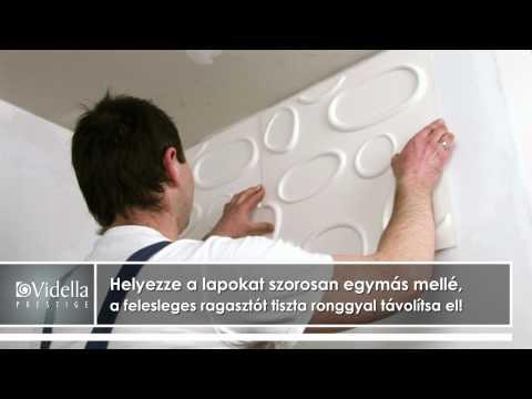 Felrakási útmutató: Vidella Prestige 3D dekoratív burkolólapok