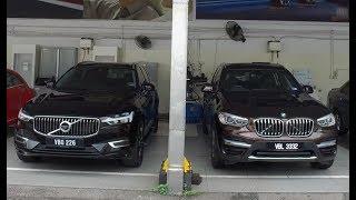 Comparison: New BMW X3 vs New Volvo XC60 Walk Around Review | Evomalaysia.com