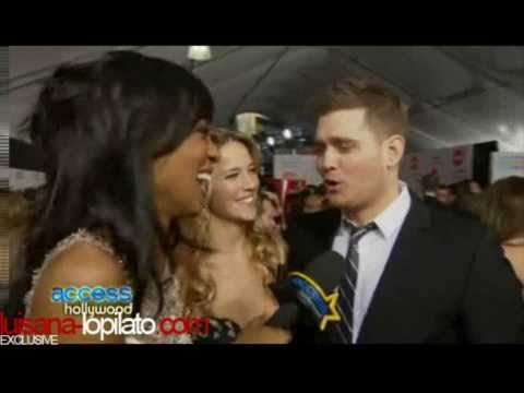 Luisana y Michael .-. Entrevista American Music Awards. Exclusivo (HD-Alta Calidad)