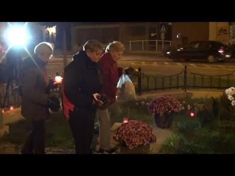 Halottak-napi megemlékezés a Hősök szobránál - 2019.11.01.