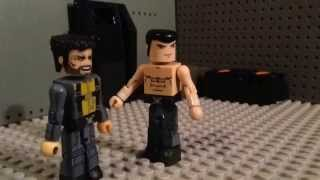 X-men days of future past minimates stopmotion lego