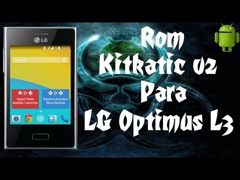 Super Rom Kitkatic v2 Cm9 / Para Lg Optimus L3 / Android 4.4,2 / 1GB Para Apps /
