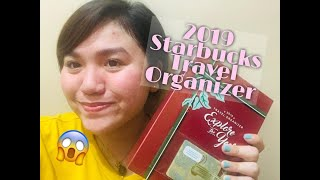 STARBUCKS TRAVEL ORGANIZER 2019: Unboxing And Review