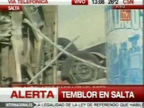 Terremoto en Chile video 08