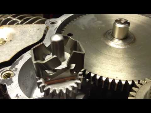 Briggs and Stratton V-Twin governor assembly