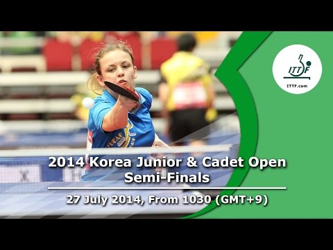ITTF 2014 Korea Junior & Cadet Open - Semi-Finals