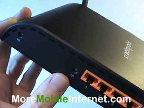 0 Cradlepoint MBR1200 Mobile Broadband Router