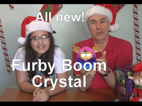New Furby Boom Crystal Series Review | EpicReviewGuys in 4k CC