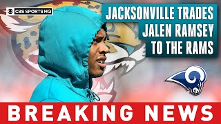Jaguars trade cornerback Jalen Ramsey to Rams for two first-round picks | CBS Sports HQ