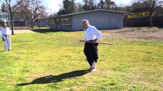 Koichi Barrish Sensei at Two Rivers Budo, 2/10/13