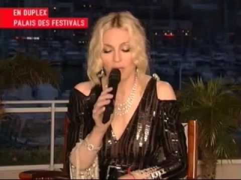Madonna - Cannes Film Festival Interview