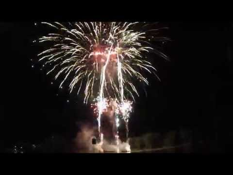 2014 Fireworks Show July 5th Ted's Grandview Supper Club Fremont WI