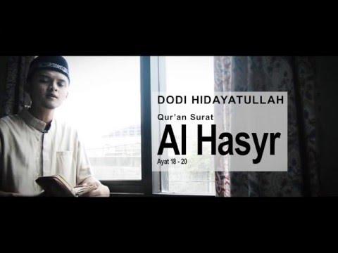 Cover Ayat - Dodi Hidayatullah (Al Hasyr 18-20)