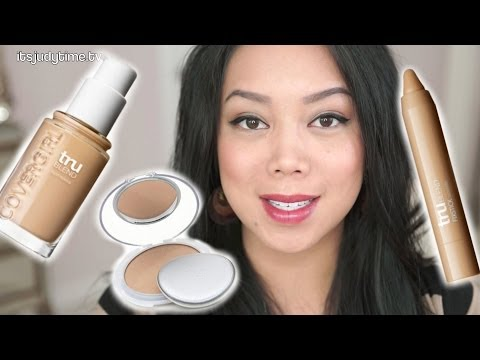NEW Covergirl TruBlend foundation, fix stick concealer, and powder review - itsjudytime