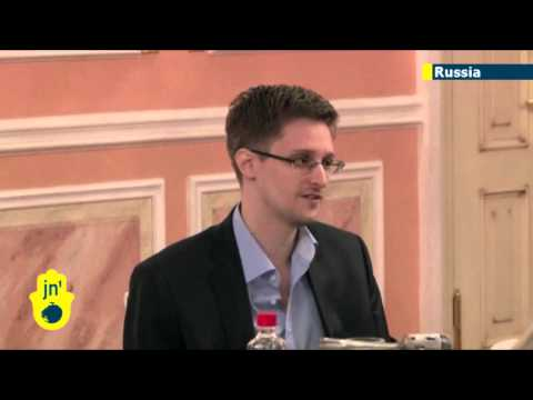 Edward Snowden slams US spying: WikiLeaks releases new Moscow video of fugitive NSA leaker