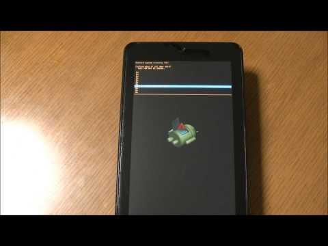 ASUS MeMO Pad HD 7(ME173) wipe data(factory reset) system recovery