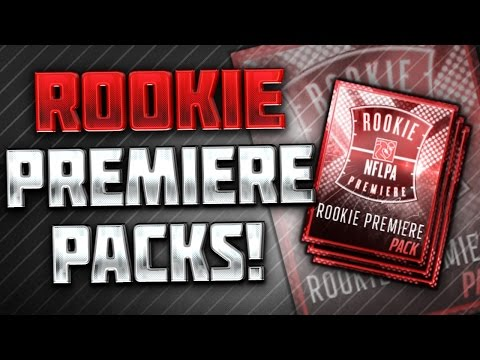 Rookie Premiere Packs! Plus: Upcoming Golden Tickets! Madden Mobile 16