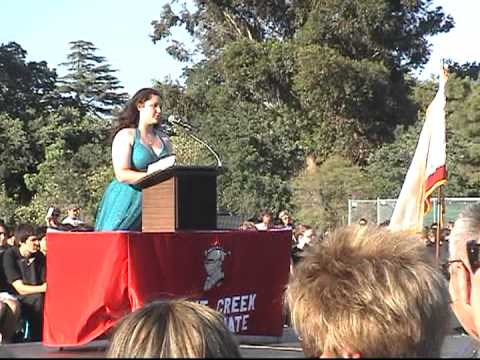 Graduate Schools: Middle School Graduation Speech