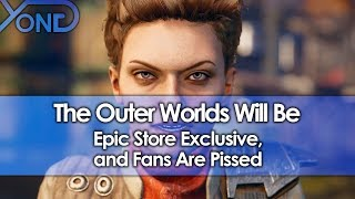 The Outer Worlds Will Be Epic Store Exclusive, and Fans Are Pissed