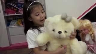 Jenny Chau-Giới thiệu đồ chơi gấu bông búp bê bé yêu-2016 HD