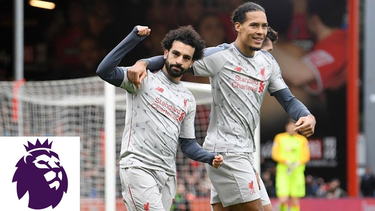 Mohamed Salah scores hat trick in Liverpool's win against Bournemouth | Premier League | NBC Sports