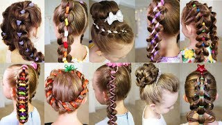 Top 10 amazing hairstyles - Beautiful Hairstyles Compilation - Hairstyles Tutorials