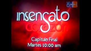 Insensato Corazon Promo Capitulo Final Por Venevision Plus