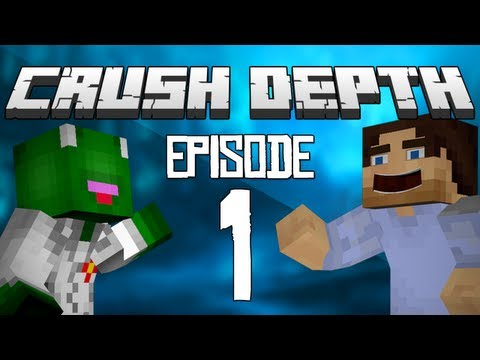 Crush Depth: MineCraft Survival Let's Play with KermitplaysMC (Episode 1)