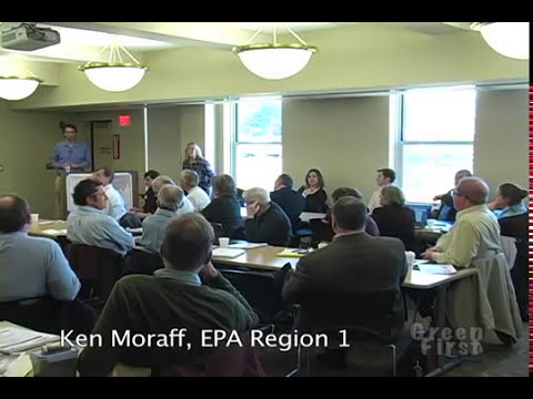 Green First Ken Moraff Pt 3/3 EPA Reg 1, Multiple Benefit Infrastructure TMDLs and Modeling